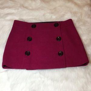 Express Design Studio Wool Blend Skirt
